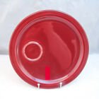 Homer Laughlin FIESTA CLARET Snack Tray(s) (no cup)