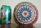 Native American Navajo 6 inch Pottery Cube Wilson Signed Excellent Cond