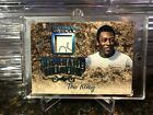 Pele 5 Relic Auto 2019 Leaf In The Game Used Sports Nickname HOF The King SIGN