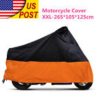 XXL Outdoor Motorcycle Cover For Harley Davidson XL Sportster V Rod Hugger 883