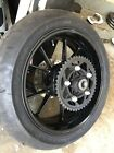 2010-1014 BMW S1000RR REAR WHEEL/RIM WITH SPROKET AND ROTOR