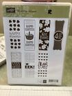 Retired Stampin Up ITS A WRAP HOLIDAYS Rubber CM Easter Halloween Christmas