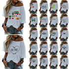 Summer Womens Tee Tops V neck Ladies Baggy Casual T Shirt Blouse 22 Stylies