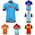 Prendas ciclismo retro short sleeve jersey 2019 Summer cycling Jersey colourful