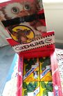 Rare 1984 Topps Gremlins Movie Photo Cards 12 Sealed Packs W Box