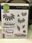 Fun Stampers Journey Bloom Box Rubber Cling Stamp Set Beautiful Friendship