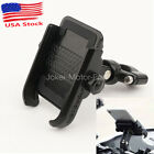 Black Aluminum Cell Phone Holder for Suzuki Boulevard C50 C90 C109R 109R 50 90