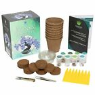 Bonsai Growing Kit Complete Gardening Set 8 Colorful Bonzai Trees Starter Pack