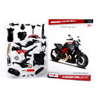 1:12 Motorcycle Diecast Model Assembly Kit F Maisto Ducati DIAVEL Toy Collection