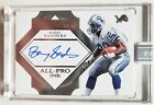 2017 Flawless BARRY SANDERS Auto All Pro Ink Black Box 1 1 LIONS