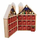 Kurt S Adler 1181 Inch Battery Operated Wooden LED Nativity Advent Calendar