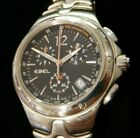 EBEL Sport Wave Men's Stainless Steel Chronograph Watch E9251K51 **NO RESERVE**