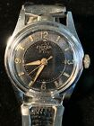 Vintage Enicar De Luxe Ultrasonic Nivaflex Hand Wind 17J Mens Stretch Watch