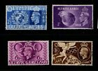 Great Britain GB 1948 Olympic Games set SG 495 98 Used