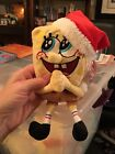 Ty Beanie baby SpongeBob JollyElf NWMT and tag protector