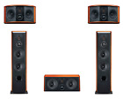 HiVi Swans 5.0 Stereo Sound System Home Theater speaker !!!