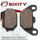 Front Organic Brake Pads 2006-2009 KYMCO People S 50 Set Full Kit 4T Complet mg