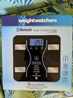 NIB Weight Watchers by Conair Bluetooth Body Analysis Scale