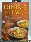 WEIGHT WATCHERS Dining For Two Cookbook Points Values 011115 Limited Servings VG