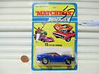 1973 Lesney Matchbox Superfast MB10B Blue MUSTANG PISTON POPPER Mint in BubblePk