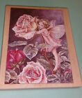 Flower Fairy Rubber Stamp Rose 90030 Cicely Mary Barker Wood Mounted