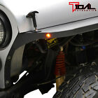 Tidal Edge Front Fender with FlairLED Eaglle Lights Fit 76 86 Jeep Wrangler CJ