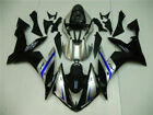 IT Black Silver Injection Mold Fairing Fit for Yamaha 2004-2006 YZF R1 Body h021