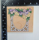 Stampendous Lace Frame Rubber Stamp W010