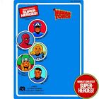 Mego Repro Human Torch 1979 WGSH Blister Card w Bubble For 8 Action Figure