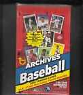 2019 TOPPS ARCHIVES HOBBY BOX FACTORY SEALED 24 PACKS 2 AUTOS