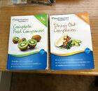 WEIGHT WATCHERS POINTS PLUS 2012 BOOKS SET OF 2