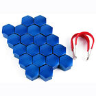20pcs Car Alloy Wheel Bolt Nut Head Cap Covers Plastic Hexagonal Protectors Hex