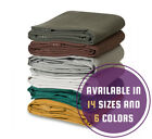 Heavy Duty Canvas Tarp 100 Cotton Canvas Water and Mildew Resistant