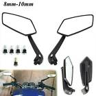 New Useful Universal Scooter Rearview Mirrors Pair Moped ATV Motorcycle Backup