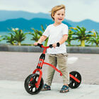 Adjustable Children Kids Balance Bike Pre bicycle No Pedal Learn to Ride Red