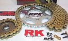 2008-2016 Honda CBR1000RR Fireblade RK GXW Gold 520 Chain and Sprocket Kit
