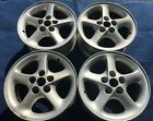 16 FORD PROBE GT 1993 1994 16x7 SILVER OE WHEELS LEFTS RIGHTS 3726 3727 3060