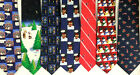 7 Christmas neckties ties lot silk polyester nativity humor santa lot 1