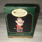 HALLMARK SNOWY SURPRISE 1998 CLUB CHRISTMAS ORNAMENTS SNOWMAN JACK IN THE BOX