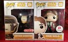 Funko Pop Star Wars - Dryden Gangster #254 & Han Solo #255 - Exclusives