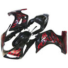 Fit Suzuki SV650 2003-2013 ABS Plastic Fairing Bodywork Set Black