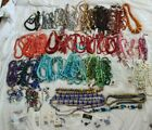 HUGE 40 LB LOT OF JEWELRY MAKING BEADS GLASS GEMSTONES HIGH QUALITY