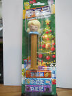 PEZ Candy & Dispenser ANGEL Holiday NEW ON CARD with 3 Pkgs of PEZ Candy (GRAPE)
