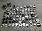 MIXED LOT 82 CENTER WHEEL CAPS WHOLESALE PARTS ASSORTED COVERS RESELLER