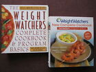 Lot of 2 WEIGHT WATCHERS Cookbooks Complete  Program New Complete Momentum