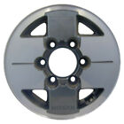 62188 Used 14X6 Alloy Wheel Rim Dark Charcoal Painted with Machined Face