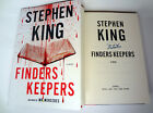Stephen King Signed Autograph Finders Keepers 1st 1st Book Mr Mercedes Trilogy
