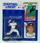 JOHN SMOLTZ - Kenner Starting Lineup MLB SLU 1993 Rookie Figure