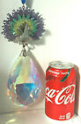 RARE Huge Kirks Folly Lucky Peacock Crystal Ornament Sun Catcher