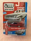 2019 AUTO WORLD 1:64 PREMIUM 2A White 1964 Ford Galaxie 500 ULTRA RED CHASE
